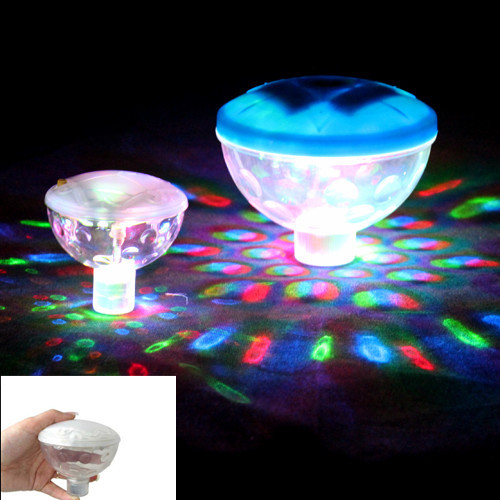 Underwater Show LED Colorful Disco Ball Multi Light Bath Hot Tub SPA Jacuzzi Decoration for the Pool Party Lights 1 set(China (Mainland))