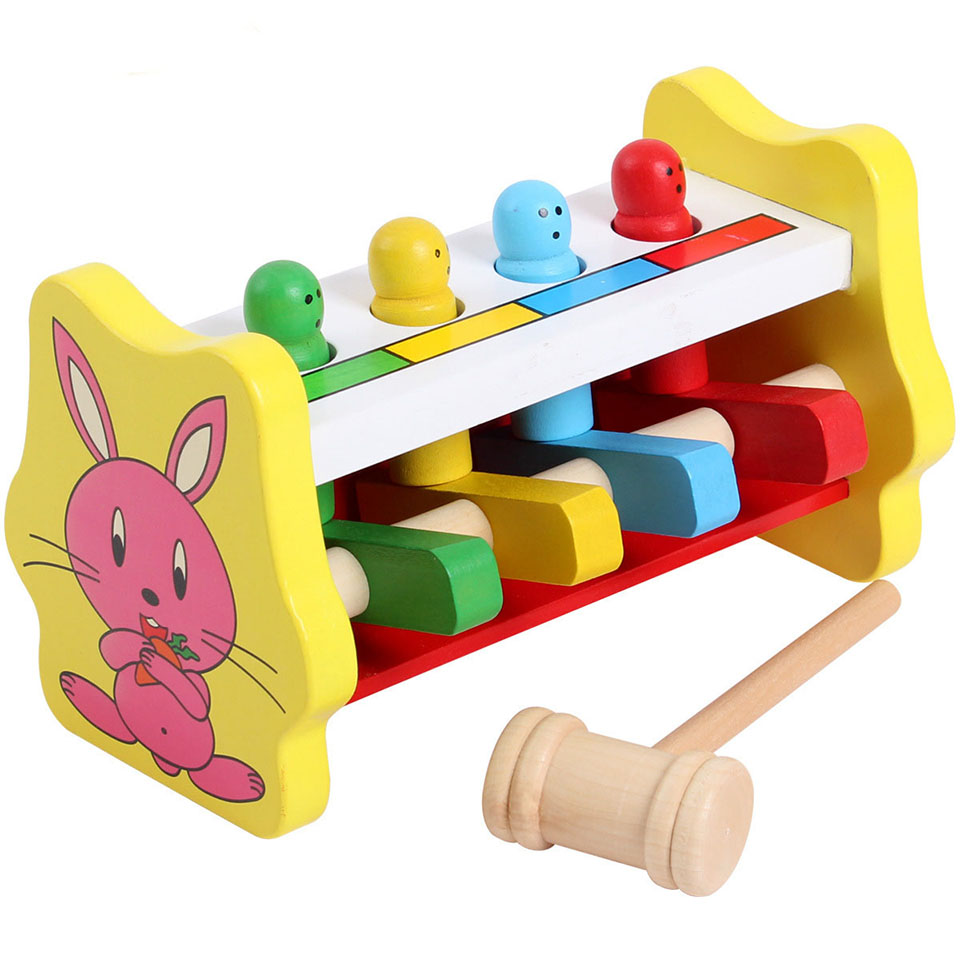 Early Childhood Educational Toys : Kids toys puzzles montessori educational wooden wood