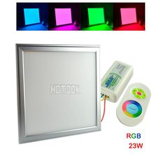 2.4g mi light RGB LED Panel Light 300 x 300 mm 23W Downlight Ceiling with rgb led controller RF remote control wireless group(China (Mainland))