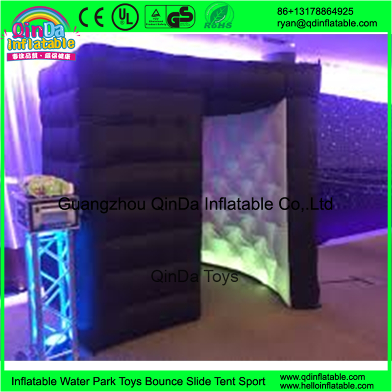 Cube Tent With Led Light For Sale Big inflatable spray booth, inflatable shopping mall(China (Mainland))