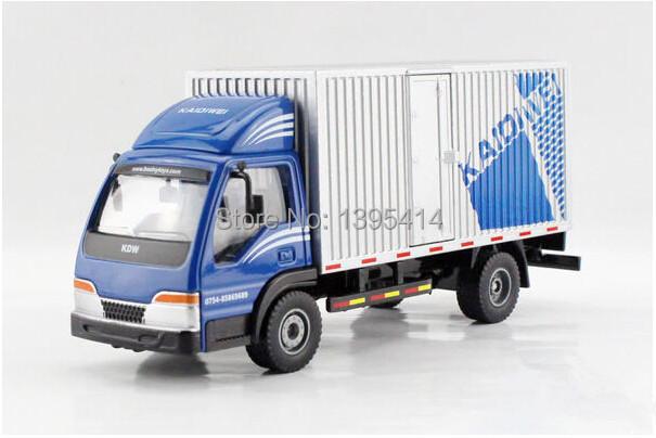 Free shipping KAIDIWEI 1:50 Van truck Alloy model toys(China (Mainland))