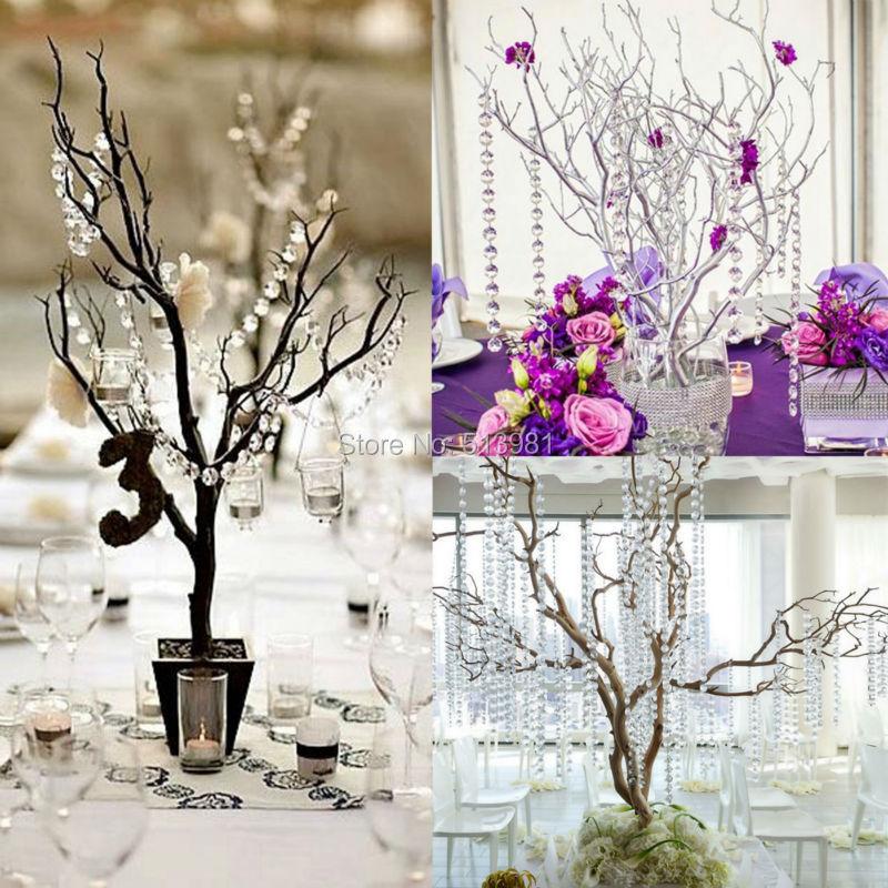 Online kaufen gro handel wedding decorations crystal trees - Weihnachtsbaum vorhang ...