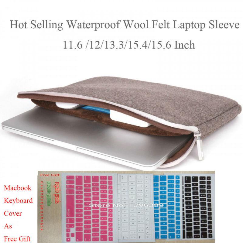 Free Shipping Laptop Bag 11.6 Inch Men Fashion Design Felt Laptop Sleeve 11 for Dell/Lenovo 14 Bag Computer Case for Laptop 11.6(China (Mainland))