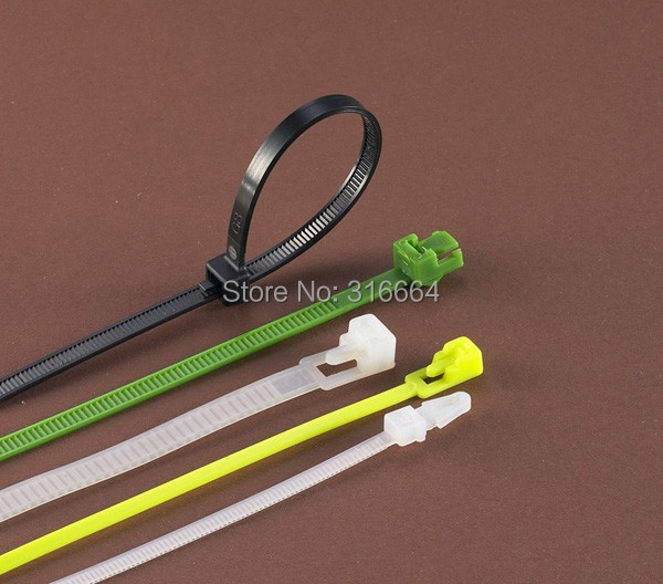 Release  Nylon Cable Ties  7x150 New Strap Power Wire Management Marker Straps <br><br>Aliexpress