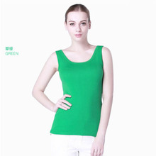 Tank top women 2015 new women's cotton vest Render garment of spring vest cotton women's tanks(China (Mainland))