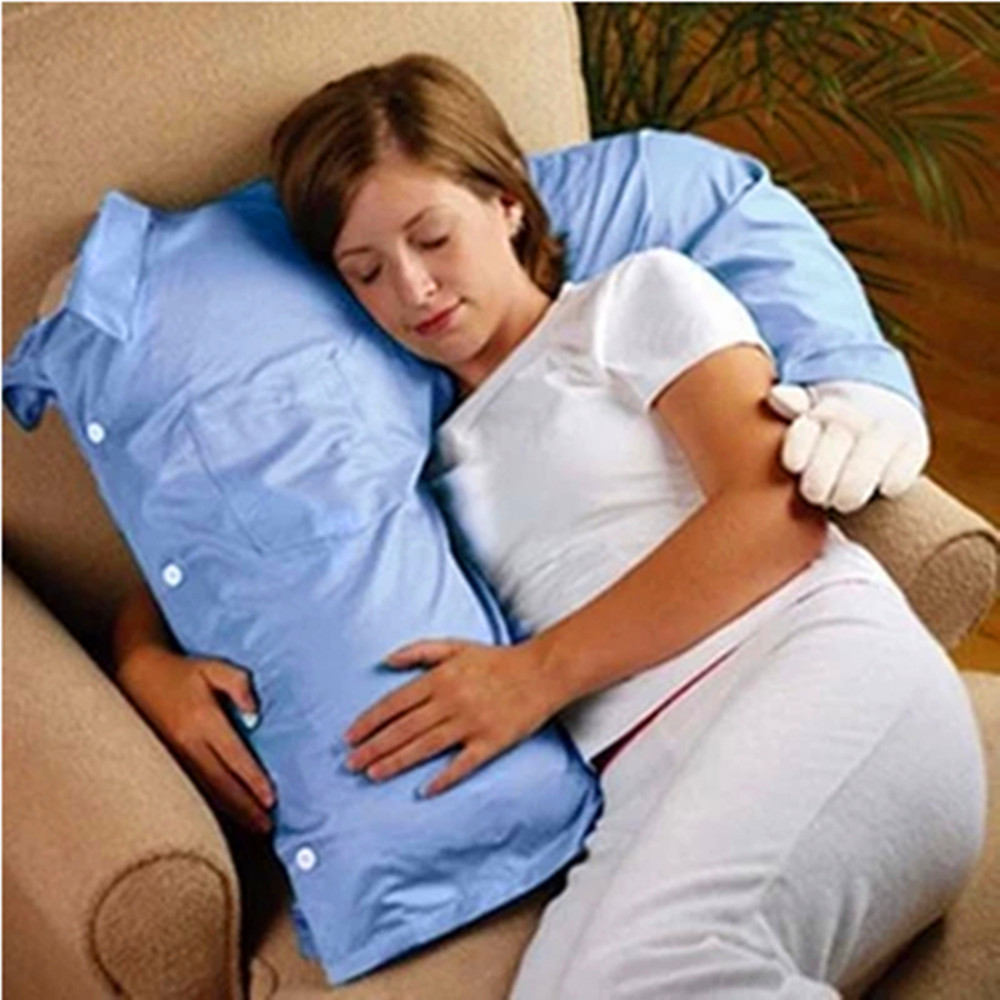 Cute Boyfriend Arm Body Pillow Bed Sofa Cushion Soft Throw Hug Washable - Happy-Life store