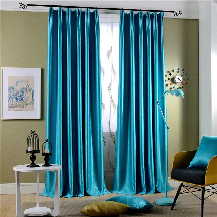 blackout curtains around the bed ~ decorate the house with