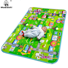 2016 NEW Baby Play Mats Double Sided High quality  Play+Learning+Safety Mats Crawling pad Kids Game Carpet Baby Mats of children(China (Mainland))