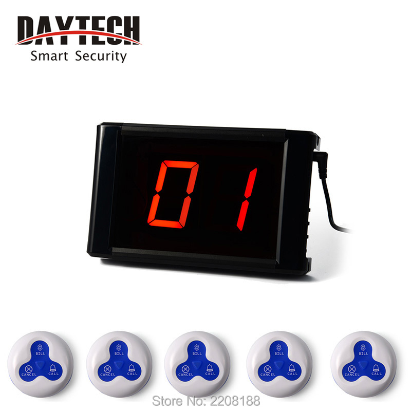 Wireless Call Button System Call Buzzer Wireless Restaurant Pager Paging Systems Table Service Buzzer Call Button 171+10*01A(China (Mainland))