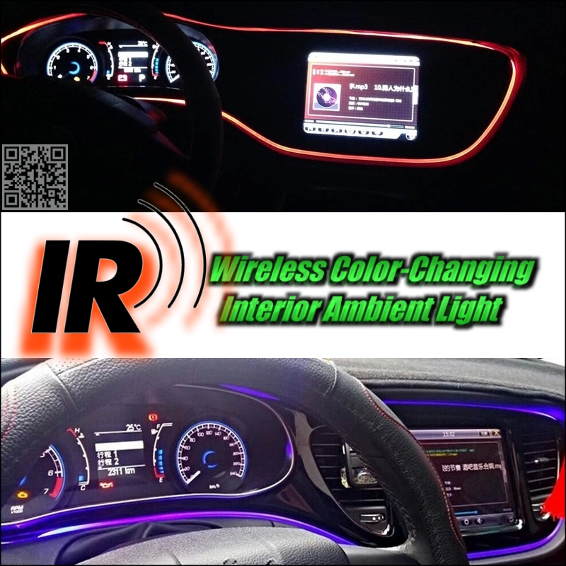 Wireless IR Control Car Interior Ambient 16 Color changing Light DIY Dashboard Light For BMW X1 E84 F48 2009~2016<br><br>Aliexpress