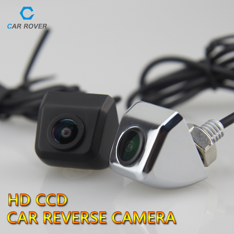 Lowest Prive CCD Newest Car Rear View Camera Parking Reverse Universal Camera for All Cars with Metal Shell Black and White(China (Mainland))