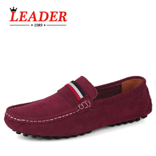 Big Size Brand Suede Men Loafers, Casual High Quality Men Flats, Fashion Driving Shoes, Men Moccasin(China (Mainland))