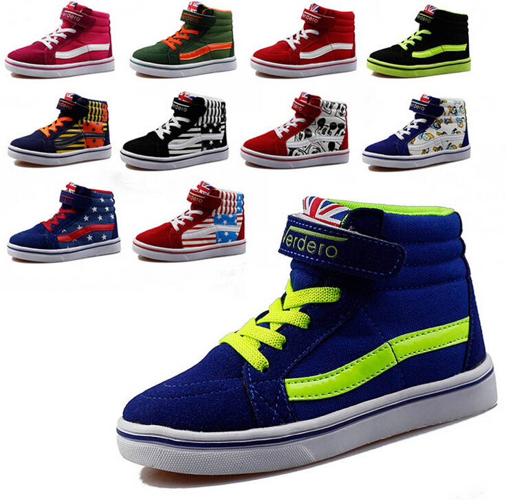 2014 new 11 style brand children shoes boys sneakers girls