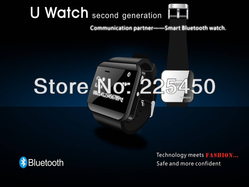 Telecommunications watch,Newest U Watch Smart Bluetooth phones Watch with phonebook Call MP3 Alarm Best Gifts For Cell Phone