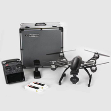Yuneec Q500 4K Camera with ST10 10ch 5.8G Transmitter FPV Quadcopter Drone Handheld Gimbal with Camera Three Battery&Case