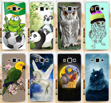Cute Animal Wolf Parrot Cat Horse Elephant PC Phone Case Sleeve Samsung Galaxy A3 A3000 A300 A300F Cases Covers Shell - Shenzhen OK Technology Co., Ltd. store