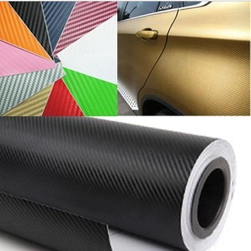 30*127cm / 30*152cm Car Stickers motorcycle 3d carbon fiber film matt body film skylight membrane film(China (Mainland))