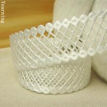Zd040 22 мм младенцы тема один — лицо атлас лента полые сетка ткань лента Fit подарок упаковка украшения