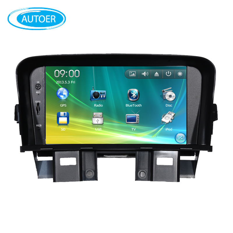 7 inch screen 2 DIN Car DVD Player Radio stereo for chevrolet cruze daewo lacetti with steering wheel control BT USB dvd GPS(China (Mainland))