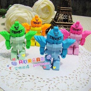free shipping Wholesale 10set/lotSouth Korean Rubber / Rubber Food / Simulation rubber/Robot modelling eraser