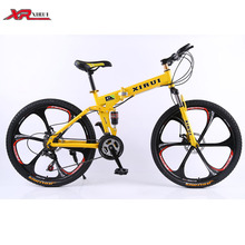 Folding bicicleta 26 inch New brand Xirui Mountain bicycle complete 24 speed Magnesium alloy red black road bike for male(China (Mainland))