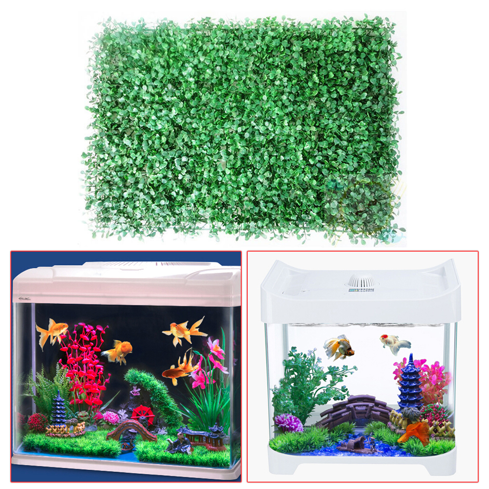 China aquarium fish tank price - Big Artificial Green Grass Plant Lawn Aquarium Fish Tank Landscape Garden Supplies Acquarium Decoration Ornaments