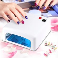 Professional Gel Nail Dryer High quality 36W UV Lamp 220V EU Plug Led Nail Lamp Curing Light Nail Art Dryer tools(China (Mainland))