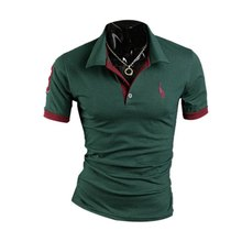 summer styles big size brand polo men shirt plus size XXXL short sleeve classic solid slim tops Newest