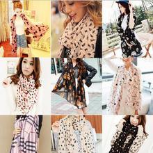 2016 New Design Stylish Women Lady Fashion Long Stole Soft all-match Chiffon Summer Scarf Shawl Wraps&Scarves Hot(China (Mainland))