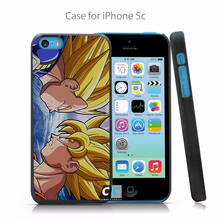 Dragon Ball Z Hyper Dimension Goku Vegeta Hard Black Case Cover Shell Coque for iPhone 4 4s 4g 5 5s 5g 5c 6 6g 6 Plus