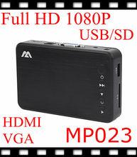 MINI HD hard drive player portable auto player MKV hdmi1080p video ads player(China (Mainland))