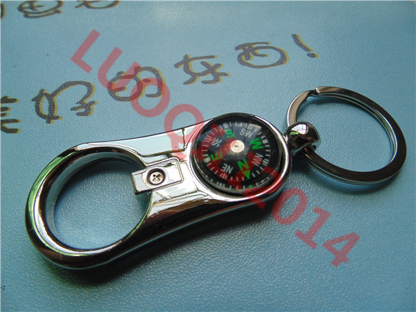 bottle opener vine keychains compass keychain unique gadget for travelers zinc alloy key ring. Black Bedroom Furniture Sets. Home Design Ideas