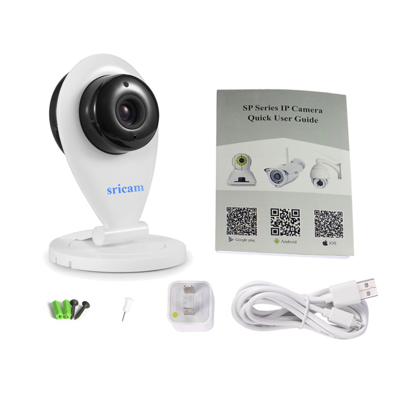 10 pieces/lot Sricam SP009 Wireless HD 720P IP Camera with IR-CUT CCTV Security ONVIF P2P for Mobile Preview Support IOS/Android(China (Mainland))