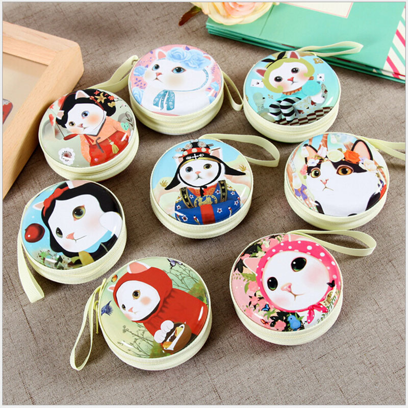 Women Kawaii Jetoy Mini Bag CartoonJetoy Choo Cat Coin Purse kids Girls Wallet Earphone Box Bags Wedding Gift Christmas Gift(China (Mainland))