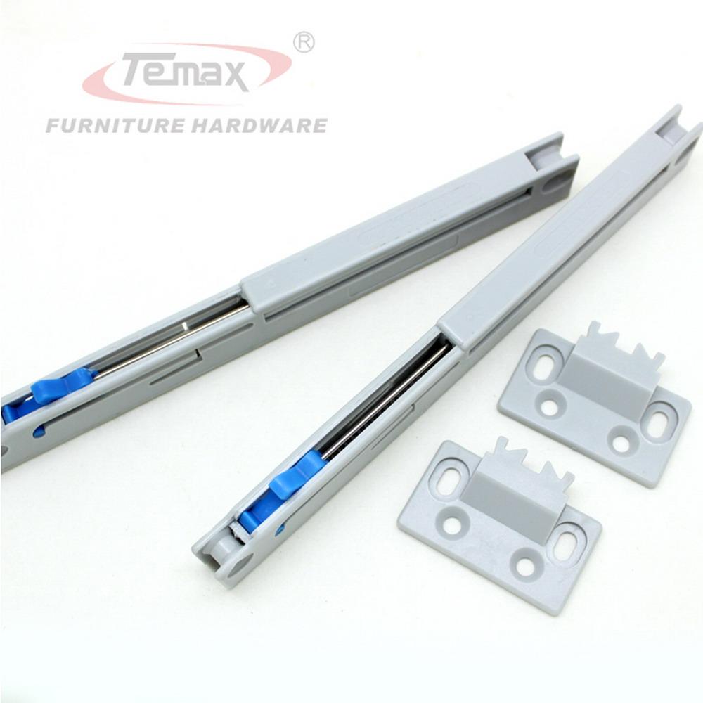 1PCS Kitchen Cabinet Gliding Sliding Soft Close Drawer Slides Cupboard Hydraulic Buffer Damper Hardware(China (Mainland))