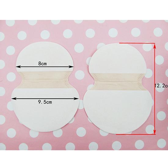 10 Disposable Sweat Pad Anti perspirant Underarm Ultra-thin Absorbent Armpit Guard Sheet Shield Fresh Safe Free shipping