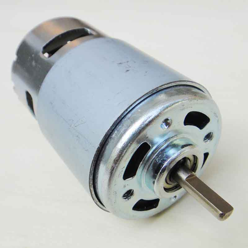775 Motor Flat Axis D Edged Shaft Mini Dc High Torque