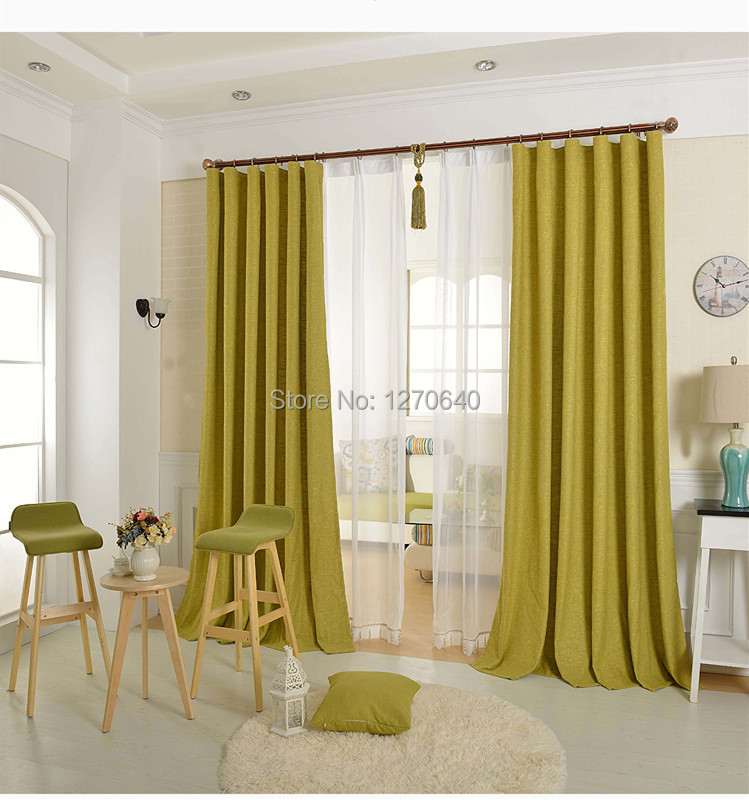 Modern Functional Material Thermal Blackout Curtains 108 Finished Cotton Clot