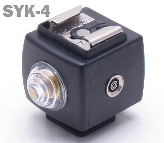 SEAGULL SYK-4 Hot Shoe Flash Slave Trigger with PC Sync SYK4 Remote Controller(China (Mainland))