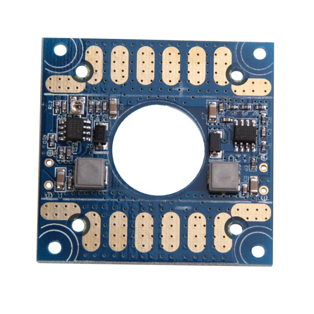 LS4G New Power Distribution Board with 5V 12V Adjustable Voltage Dual BEC Output(China (Mainland))