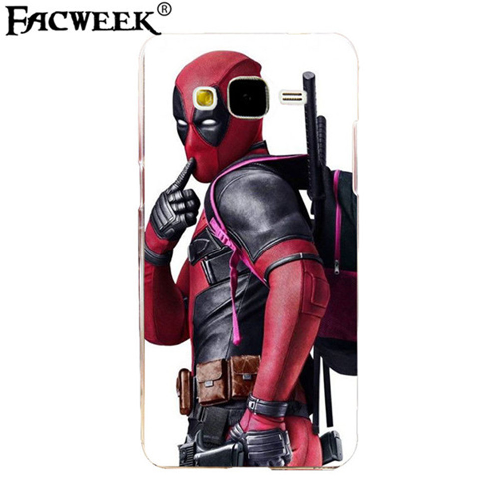 Hot sale Knife gun Deadpool pattern back cover silicone cell phone cases coque For Samsung Galaxy Grand Prime G530 G5308 G530h(China (Mainland))