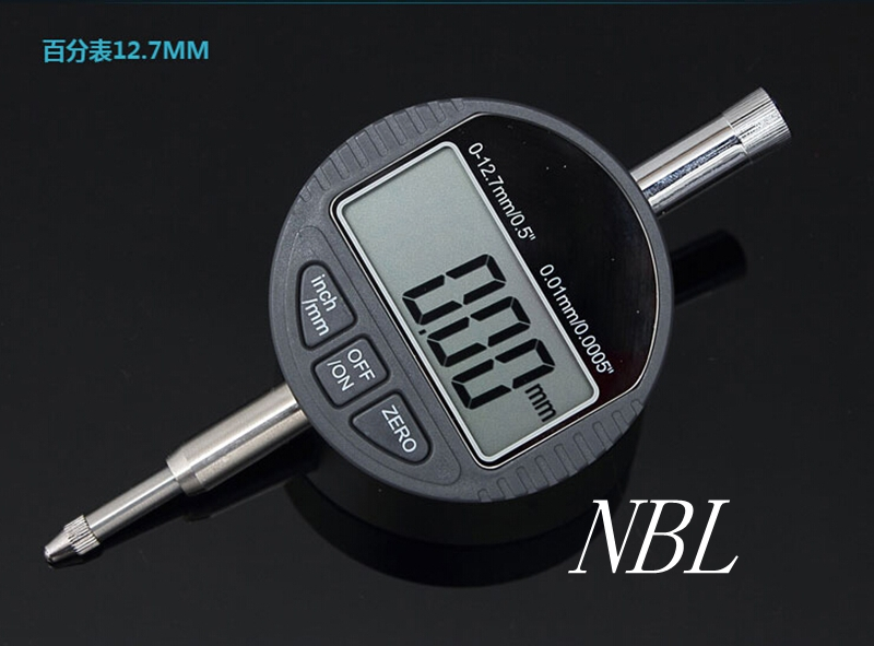 High Quality 12.7mm Digital Dial Indicator Meter 0-12.7mm/0.5
