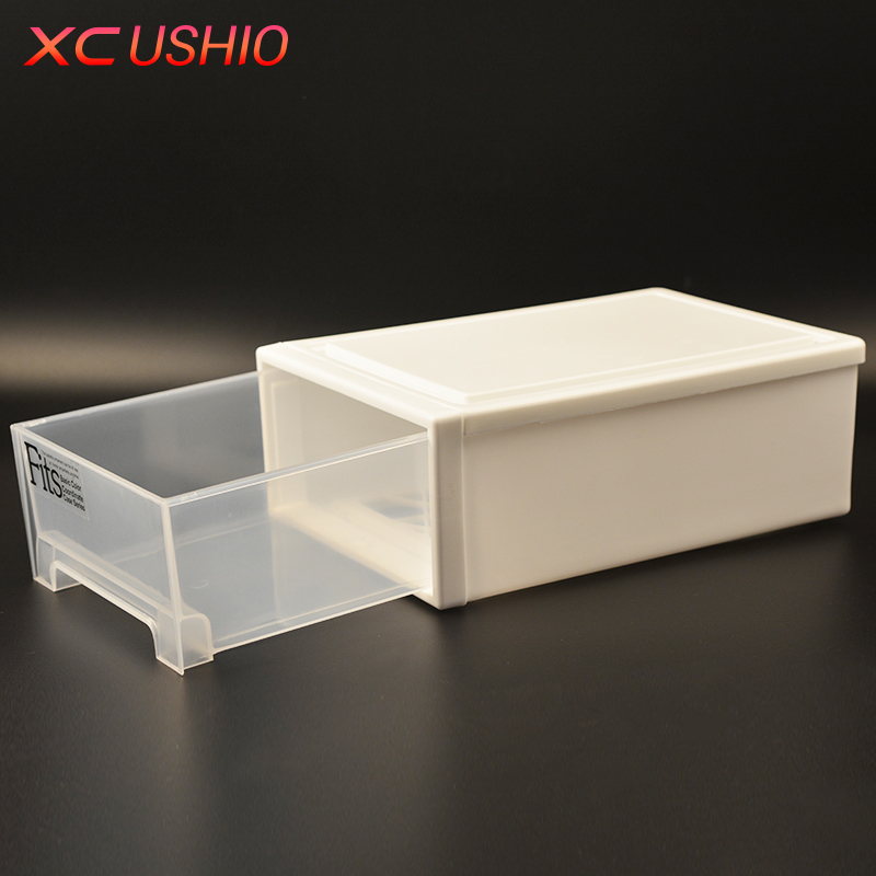 Thickened Single Layer Plastic Drawer Storage Box Organizer Transparent Toys Shoes Storage Box Case Combined Drawer Cabinet(China (Mainland))