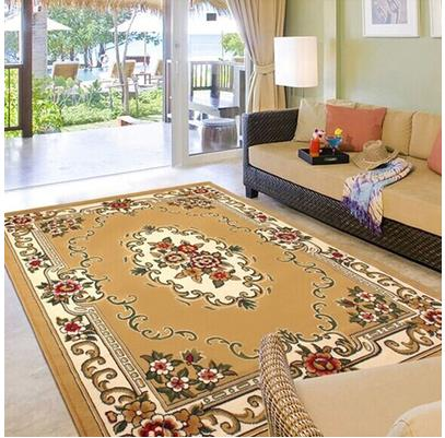 modern simple european color carpet for living room soft