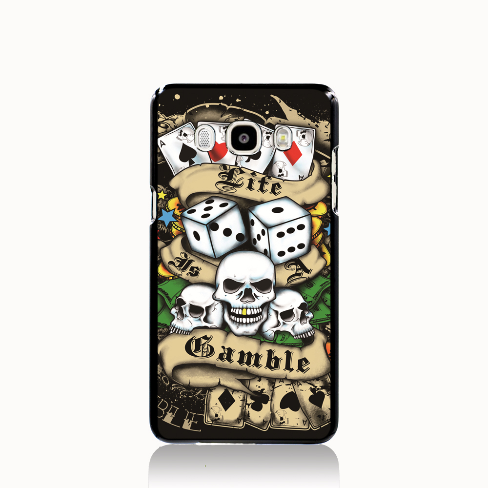 14144 ed hardy cell phone case cover for Samsung Galaxy J1 ACE J5 2015 J7 N9150(China (Mainland))