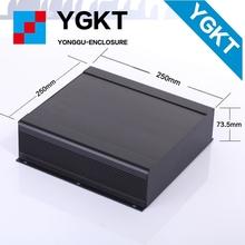 Ygs-030-1 250 x 73.5 x 250 мм / 9.84 » x2.89 » x9.84 » ( шхвхг ) из экструдированного алюминиевого корпуса для электроники усилитель мощности волочения проволоки 150 мм