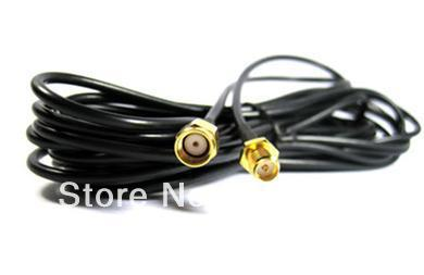 10M RP SMA Male to RP SMA Female Extension Cable Antenna RG174(China (Mainland))