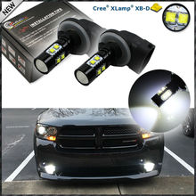 Buy , 2 Extremely Bright 50W CRE'E High Power 881 886 H27W LED Replacement Bulbs Car Fog Lights Driving Lamps, Xenon White Color for $15.12 in AliExpress store