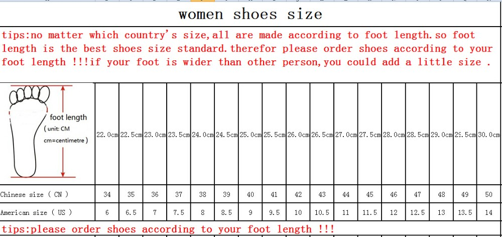 women shoes size20151111