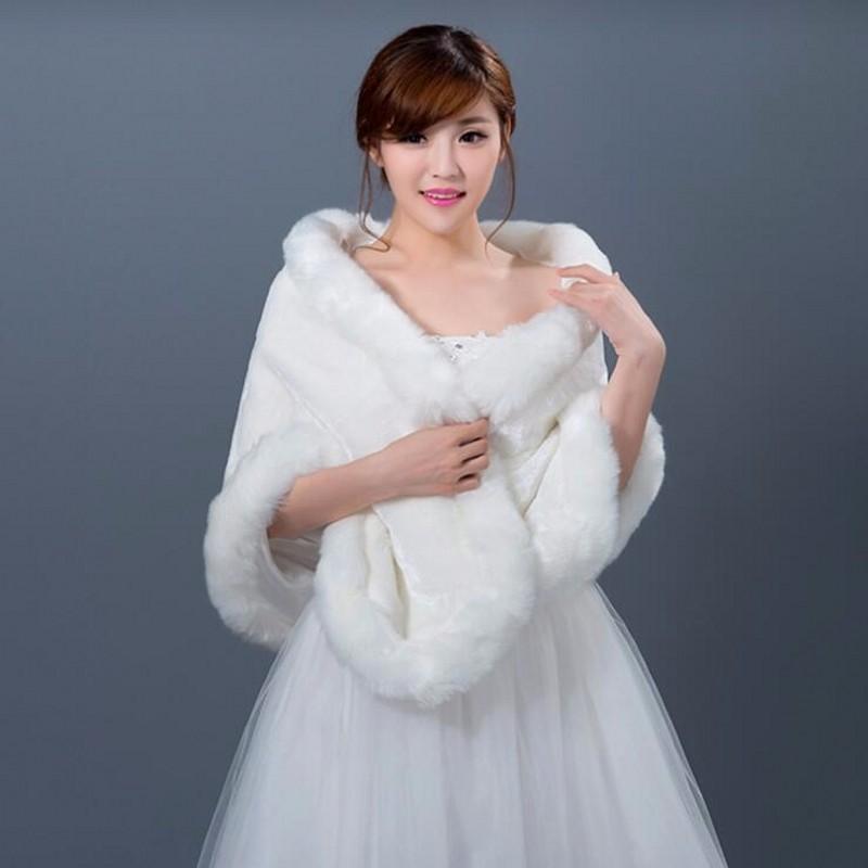 Blanc manteau pour le mariage promotion achetez des blanc manteau pour le mariage promotionnels - Manteau mariage hiver ...